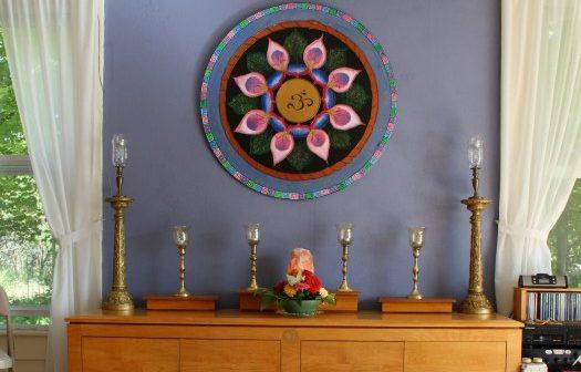 altar mandala at KYWC