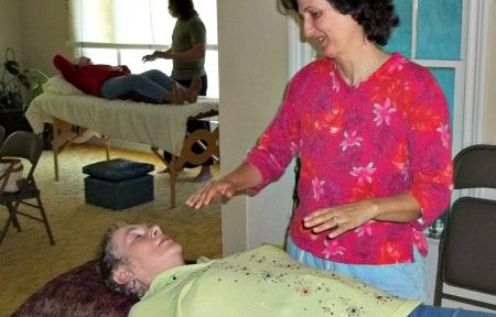Val Silver with Nancy Pfeil energy healing