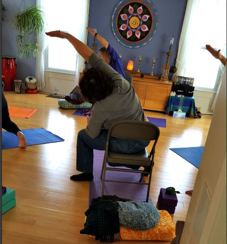 chair yoga kripalu