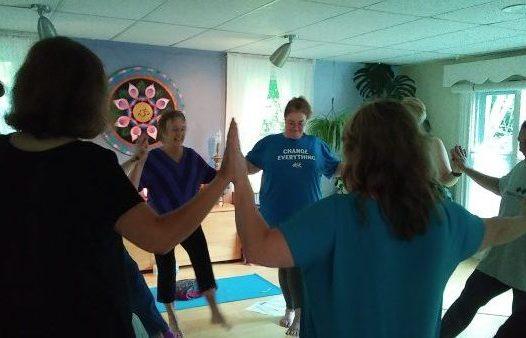 nancy pfeil beginner yoga class